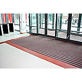 COBA Europe Duo Doormat - 1 - 150cm x 90cm - Black/Brown