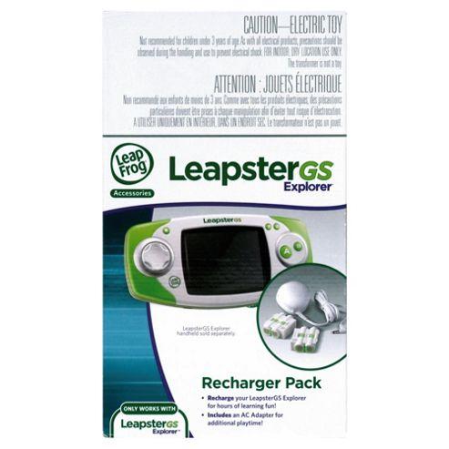 LeapFrog LeapsterGS Explorer Recharger Pack