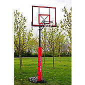 Sure Shot Quick Adjust portable basketball unit with acrylic backboard