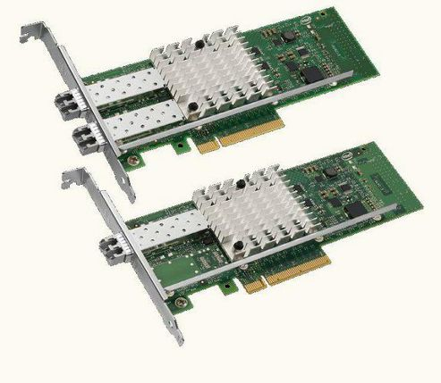 Ethernet Server Adapter X520-SR2 - Network adapter - PCI Express 2.0 x8 low profile - Gigabit Ethern
