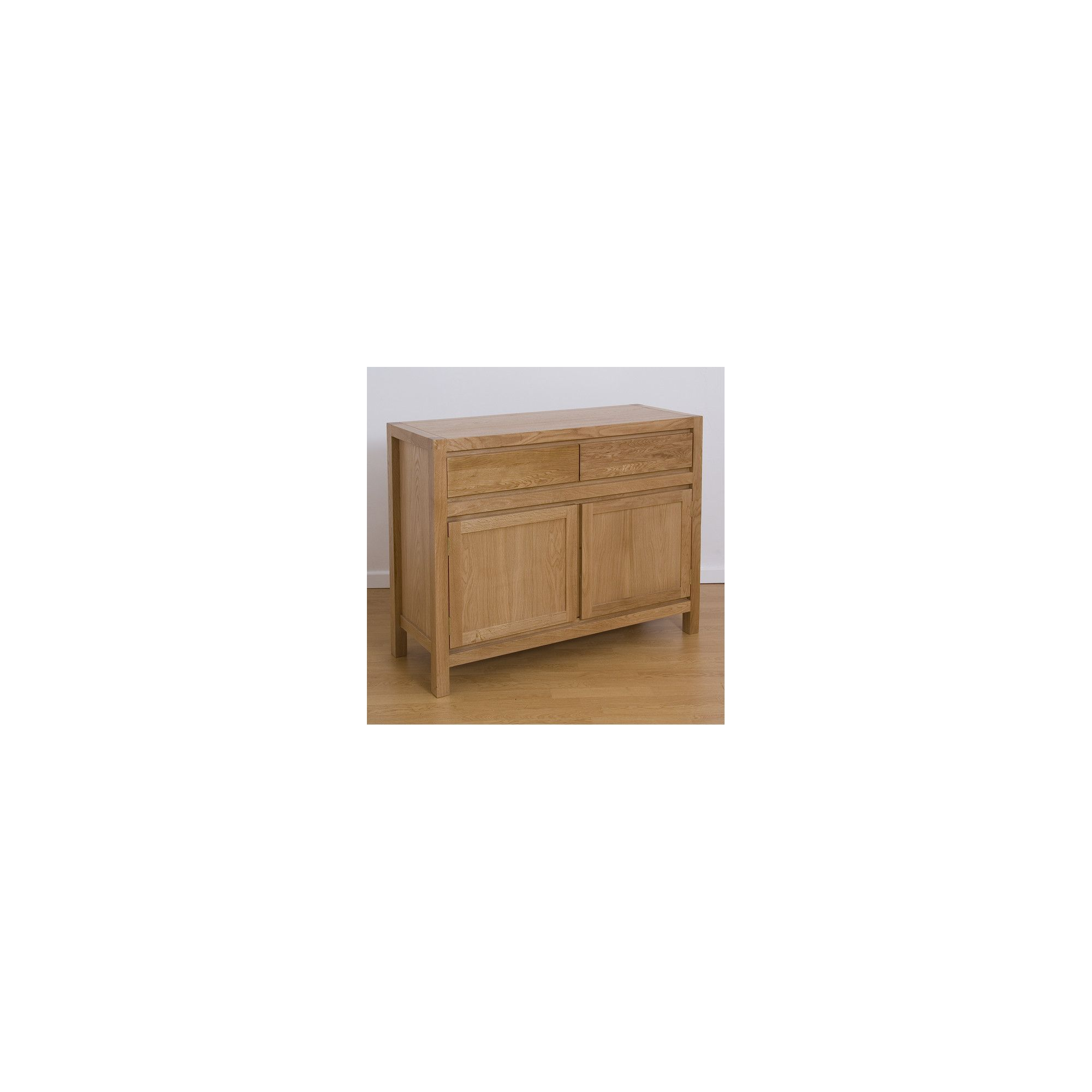 G&P Furniture Small Oak Sideboard at Tesco Direct