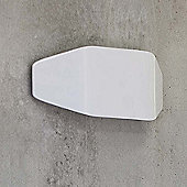 Faro Future One Light Wall Lamp - Mat White