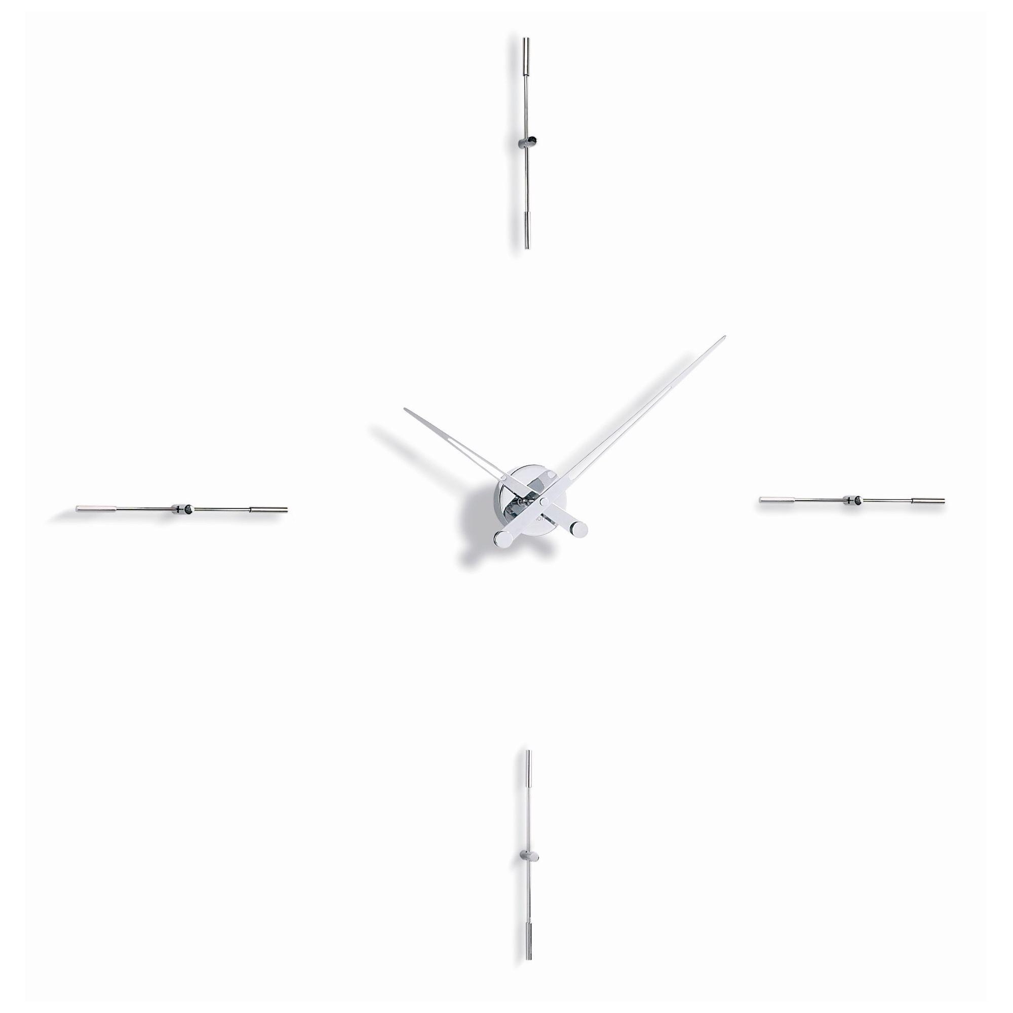 NOMON Merlin 4 I Clock - Chromed Steel at Tesco Direct