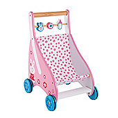 ELC Wooden Push Along Pram