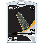 PNY 1GB Memory PC3200 400MHz DDR SDRAM Unbuffered Non ECC DIMM