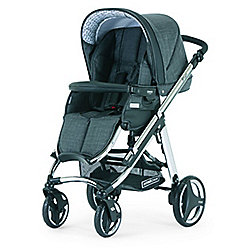 Bebecar Ip-Op Evolution Chrome Nickel Pushchair