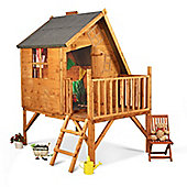 Mad Dash Crooked Cottage Tower Wooden Playhouse, 6ft x 5ft
