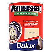 Dulux Weathershield Smooth Masonry Butter Cream 5L