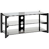 TECHLINK SKALA SK110 3 SHELF TV STAND (TITANIUM FRAME)