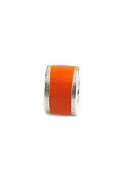 Amore & Baci Junior Orange Candy Narrow Bead