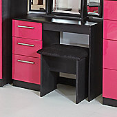 Welcome Furniture Knightsbridge Writing Desk - Pink - Black