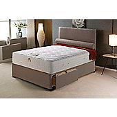 Vogue Beds Vogue Memory Pocket New Empress Platform Divan Bed - Small Double / 2 Drawer