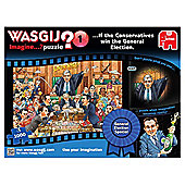 Wasgij Imagine General Election Special Conservatives 1000-Piece Jigsaw Puzzle