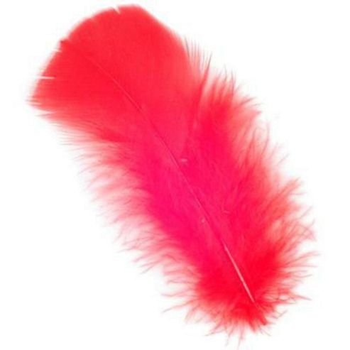 Feather Petals - Red