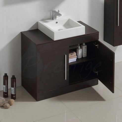 Buy prestige brussel floor mounted bathroom vanity unit for Bathroom cabinets 800mm high
