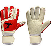 Precision Gk Schmeichel Premier Roll Finger Goalkeeper Gloves - Red