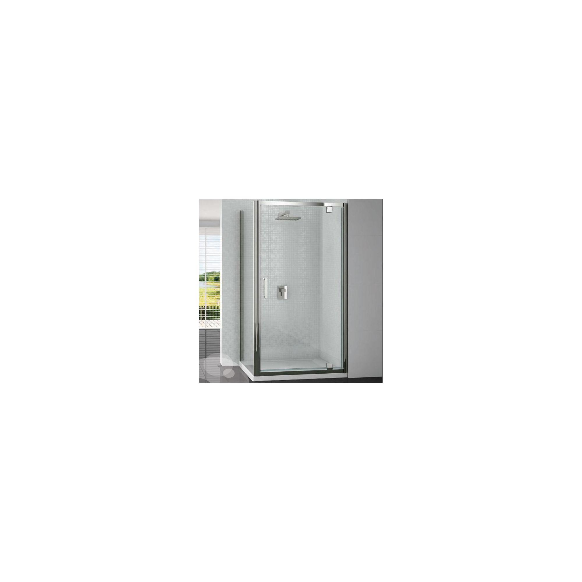 Merlyn Vivid Six Pivot Shower Door, 700mm Wide, 6mm Glass at Tesco Direct