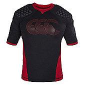 Canterbury Vapodri Raze Flex Vest - Black/Red/White - Black