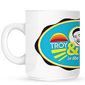 Troy & Abed In The Morning 10oz Ceramic Mug
