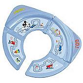 Disney Mickey Mouse Travel Folding Toddler Toilet Seat