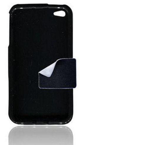 Apple iPhone 4, 4S S U-Bop gSHELL Tough All-Body Case, Smoke Black