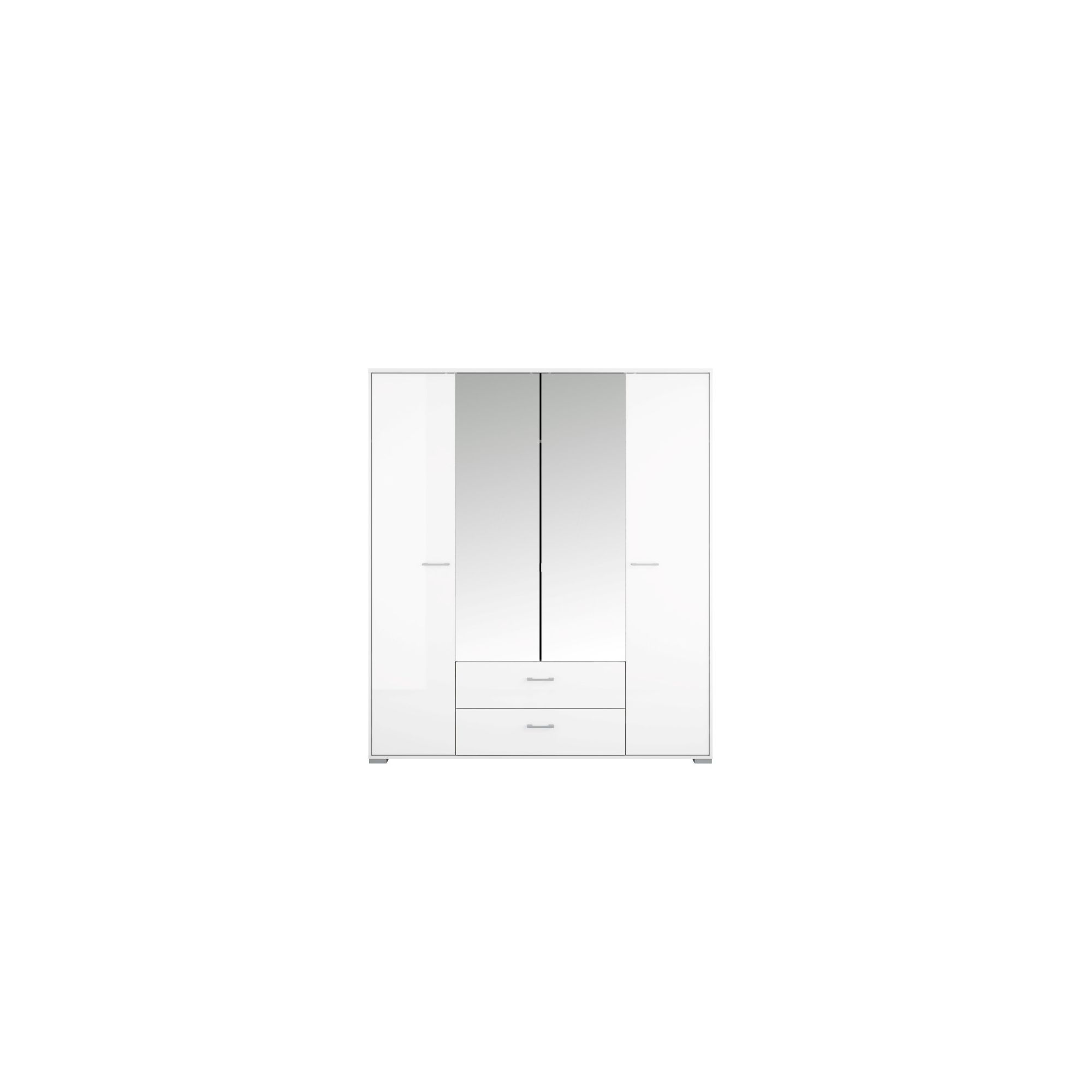 Tvilum Acacia 4 Door Wardrobe at Tesco Direct