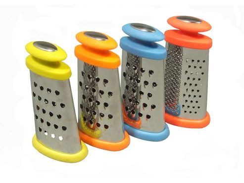 Apollo Housewares 5061 Grater Mini Stainless Steel Splash