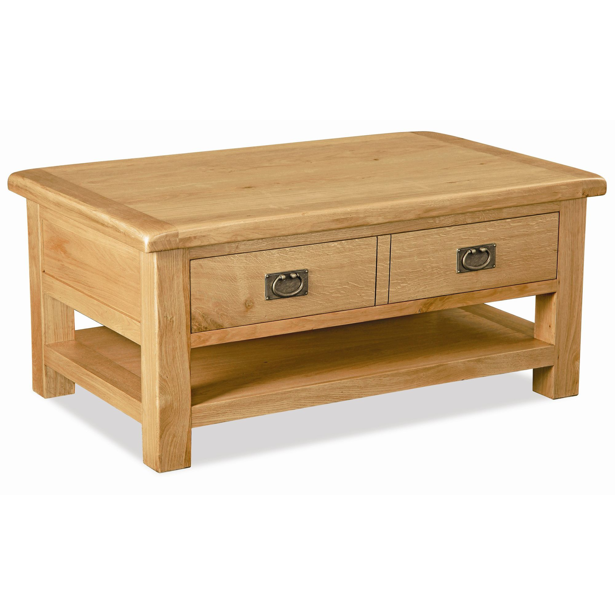 Alterton Furniture Pemberley Large Coffee Table with Drawer And Shelf at Tesco Direct