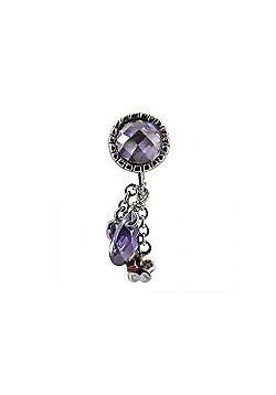 Chrysalis Amethyst Barrel Drop Slide On Spacer