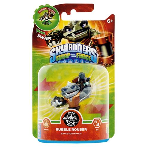 Skylanders Swap Force Character : Rubble Rouser