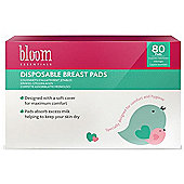 80 pack Bloom Essentials Disposable Breast Nursing Pads