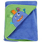 Taggies Applique Cot Blanket (Monster)