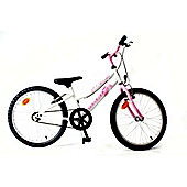 "Orbita BTT 20 H Single Speed 20"" Wheel Girls Mountain Bike (White)"