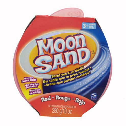 Moon Sand - Rocket Red Colour Tub