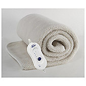 Silentnight Fleecy Electric Blanket Single
