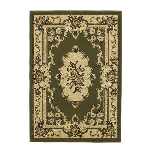 Oriental Carpets & Rugs Marakesh Light Green Rug - 170cm L x 120cm W