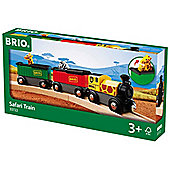 Brio 33722 Safari Train For Wooden Train Set