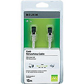 Belkin Cat 6 Snagless Patch Cable RJ45M-RJ45M (Red), 15m