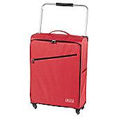 Z Frame 4-Wheel Super-Lightweight Suitcase, Red Large