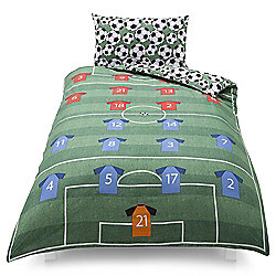 Tesco Kids Football Single Duvet Set