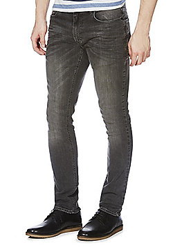 F&F Dark Grey Skinny Stretch Jeans - Dark grey