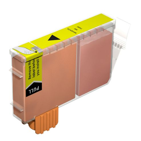 MoreInks Ink Cartridge For Canon S500 - Yellow