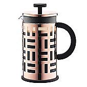 Bodum Eileen 1.0L 8 Cup Coffee Maker Cafetiere, Copper