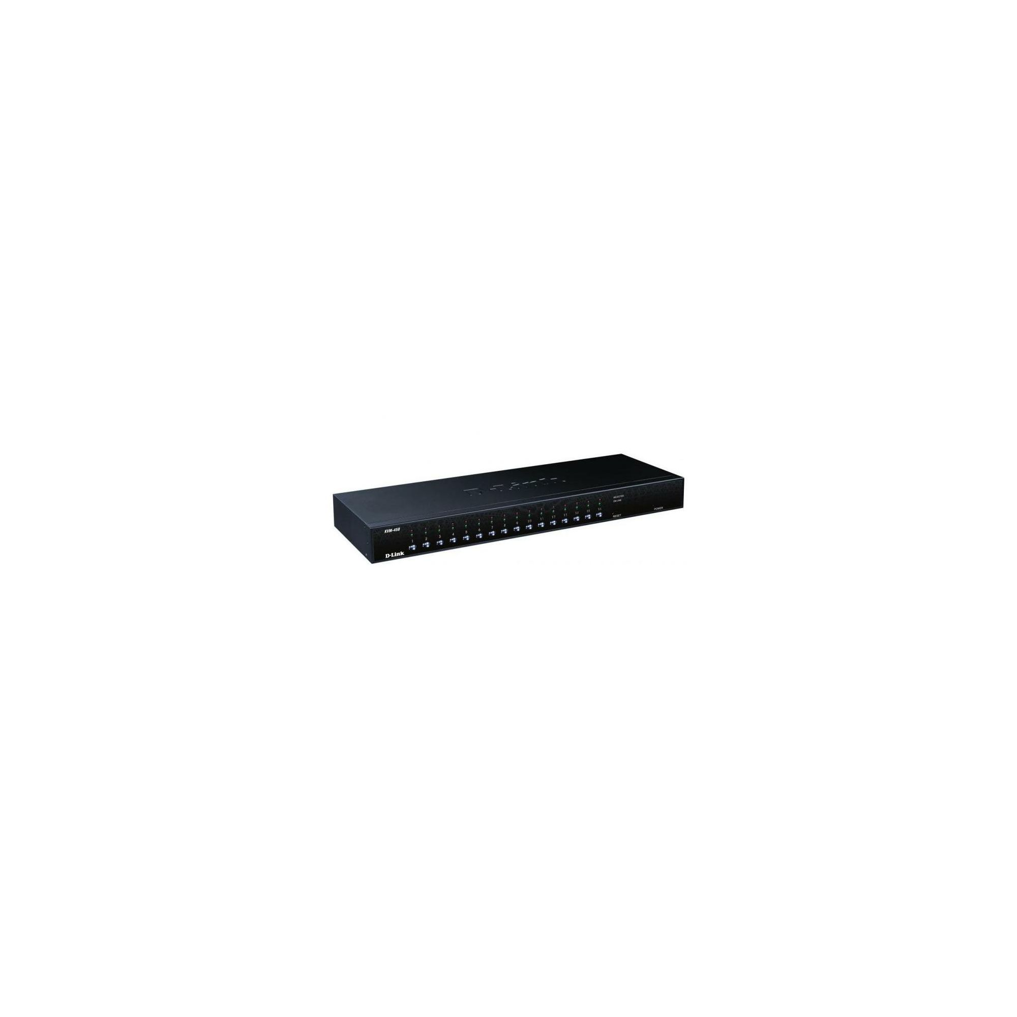 D-Link DKVM-450 16-Port PS2/USB Stackable KVM Switch at Tescos Direct