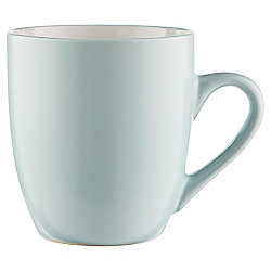 Tesco Two Tone Stoneware Mug, Duck Egg