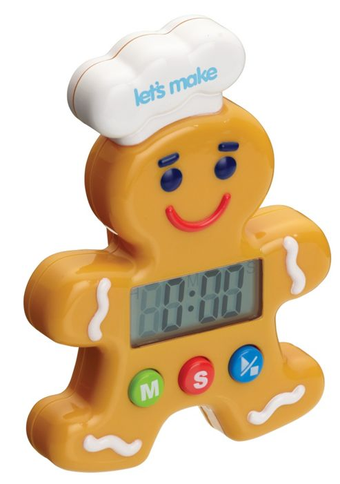 KitchenCraft Let's Make Gingerbread Man Digital Timer