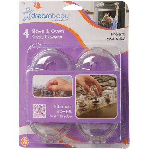 Pack Of 4 Stove & Oven Knob Covers - F141 - Dreambaby