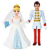 Disney Princess MagiClip Fairytale Wedding Cinderella Doll