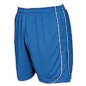 Precision Mestalla Shorts Men'S Football Shorts Training Sportswear - Royal blue & White