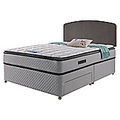 Sealy Pillowtop  Non Storage Divan Charcoal